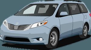 Toyota Sienna clipart
