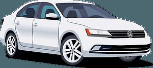 Volkswagen Jetta clipart