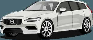 Volvo V60 clipart