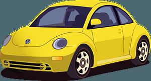 VW Beetle clipart