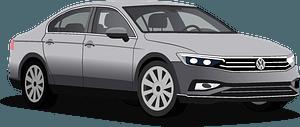 VW Passat clipart