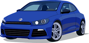 VW Scirocco clipart