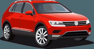 VW Tiguan clipart