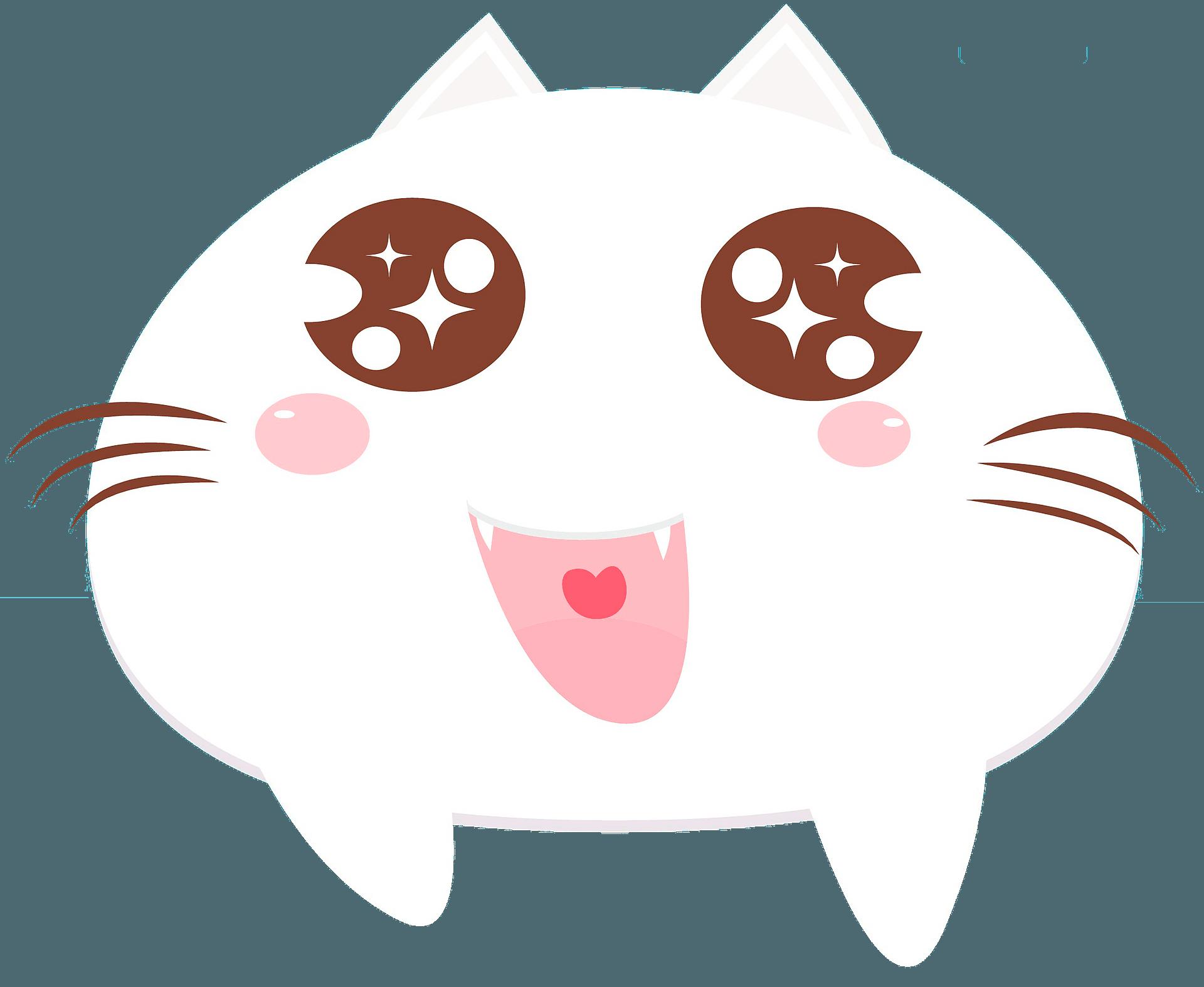 Cute Cartoon Cat Clipart Free Download Transparent Png Creazilla