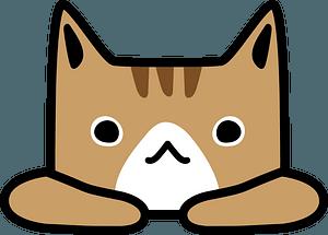 Cartoon cat face 클립 아트