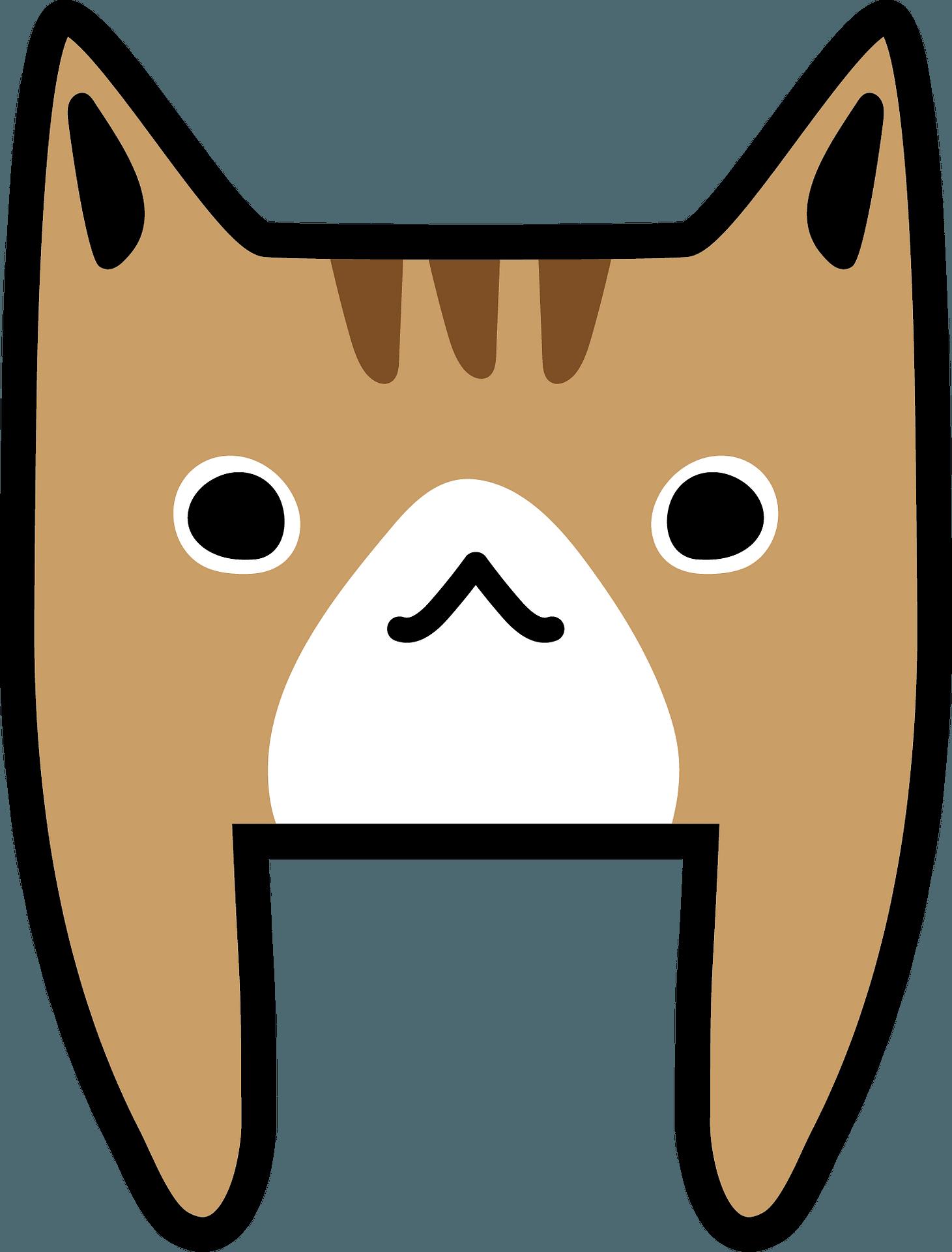 Cartoon Cat Face Clipart Free Download Transparent Png Creazilla
