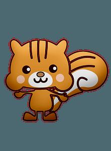 Cute squirrel clipart