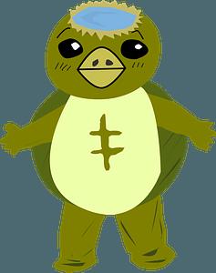 Cartoon turtle clipart