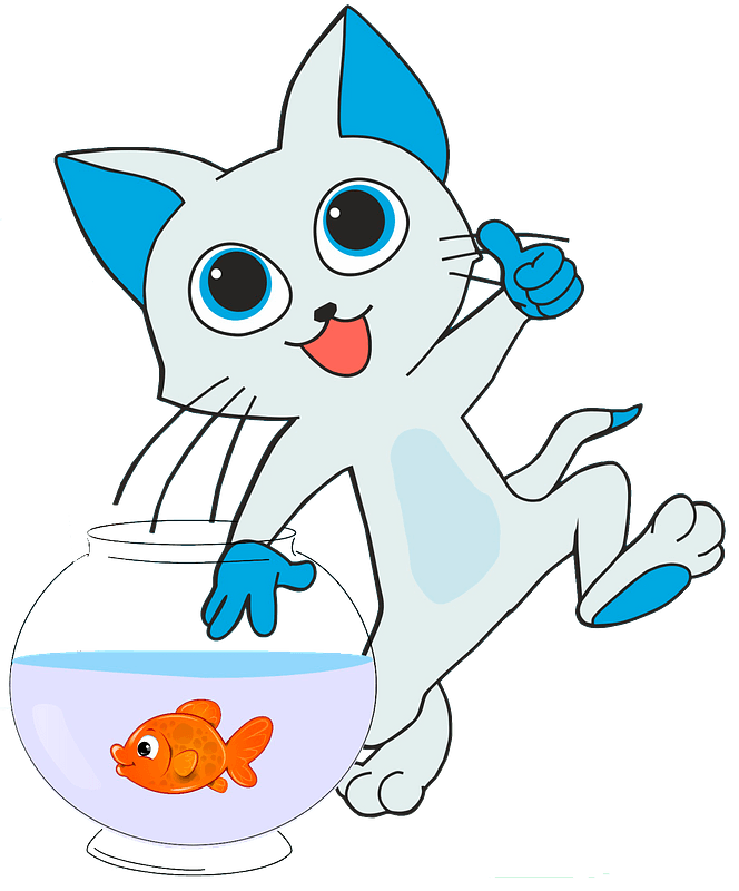 Clipart of a Retro Black and White Happy Man Catching a Giant Fish by  BestVector - #2124