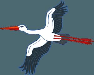 Storkのクリップアート
