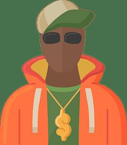 Rapper clipart