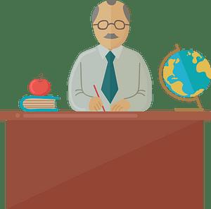 School principal кліпарт
