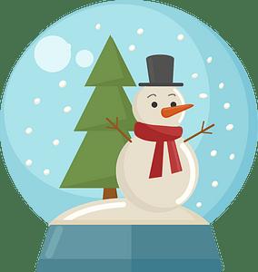 Snow globe кліпарт