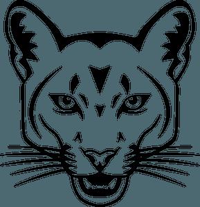 Cougar face 클립 아트