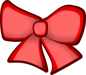 Hair ribbon clipart