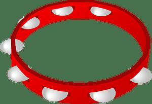 Tambourine clipart