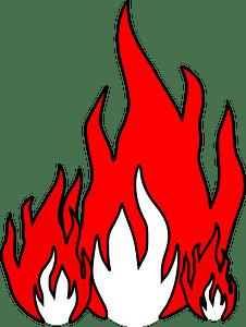 Flames clipart