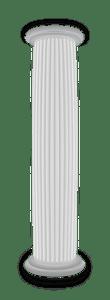 White pillar clipart