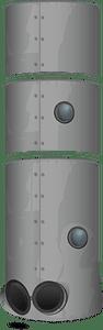 Crashed spaceship pillar clipart