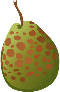 Guava spotted clipart
