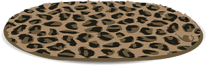 Leopard skin rug 클립 아트