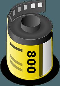 Camera roll clipart