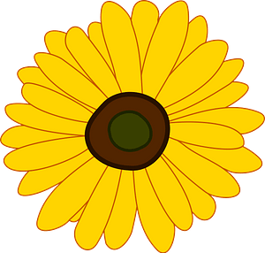 Sunflower clipart