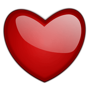 Glossy Heart clipart