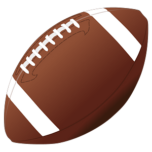 American football clipart