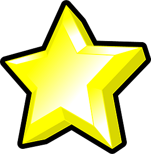 Star symbol clipart