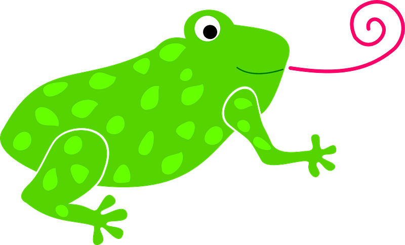 Frog Catching Flies Clipart Free Download Transparent Png Creazilla