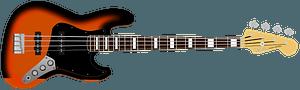 Bass guitar clipart