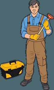 Plumber clipart