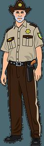 Sheriff clipart