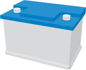 Car battery clipart