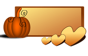 Fall frame clipart