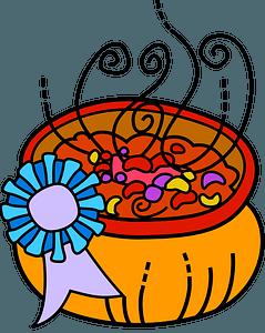 Prize-winning chili clipart