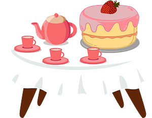 Birthday table clipart