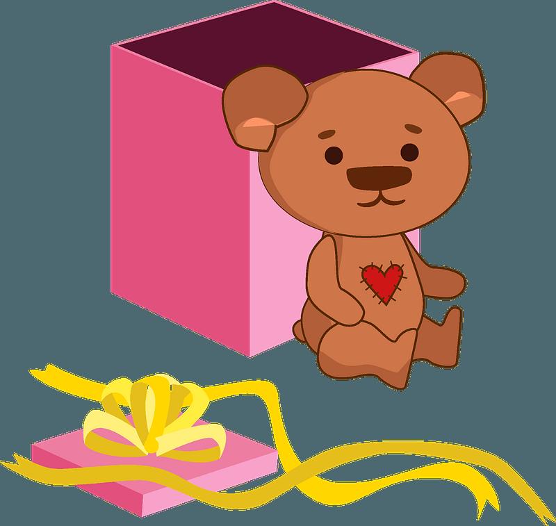 Birthday Teddy Bear clipart