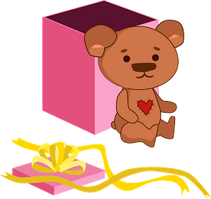 Birthday Teddy Bear clipart