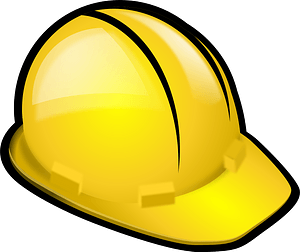 Safety Helmet - Yellow Hard Hat clipart