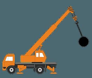 Wrecking Ball Crane clipart