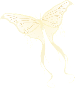 Fairy butterfly clipart