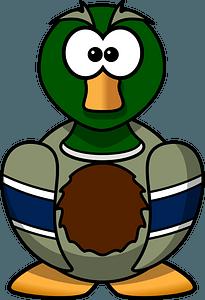 Funny Mallard clipart