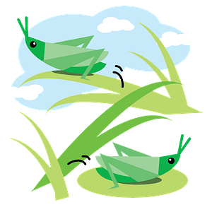 Grasshopper Insect clipart