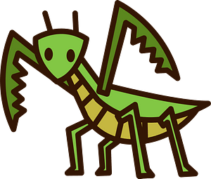 Mantis Insect clipart
