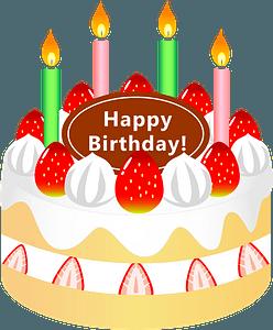 Birthday Cake Dessert clipart