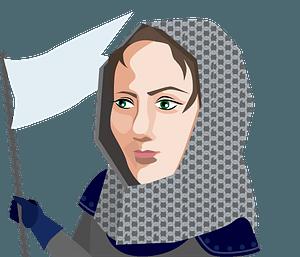 Joan of Arc clipart