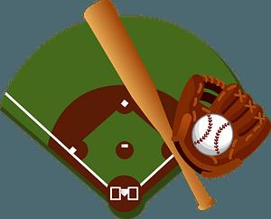 Baseball Park and Equipment clipart