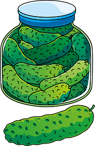 Pickle clipart
